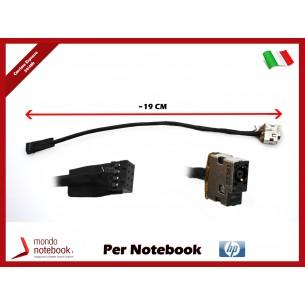 Connettore di Alimentazione DC Power Jack HP PJ584 PJ680 Envy 15 14-E (8 PIN) ~19 Cm