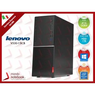PC Desktop Lenovo V530 Tower Intel G5400 - HDD 1TB - 4GB Ram