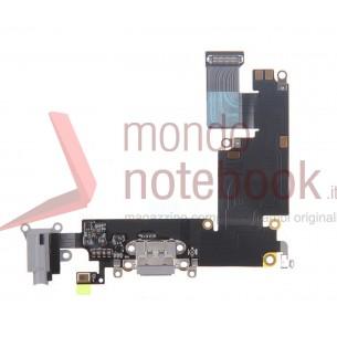 Connettore di Ricarica Apple iPhone 6 Plus Charging Port Flex Cable (Dark Gray)