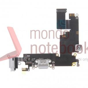 Connettore di Ricarica Apple iPhone 6 Plus Charging Port Flex Cable (Light Gray)