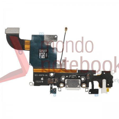Connettore di Ricarica Apple iPhone 6S Charging Port Flex Cable (BIANCO)