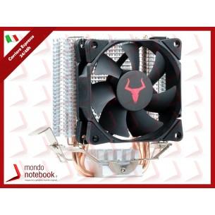 "COOLER ITEK UNIVERSALE ""CPU ICY 2H8"" 2 HeatPipe, ventola 80mm PWM, 98W TDP - ITCACI2H8"