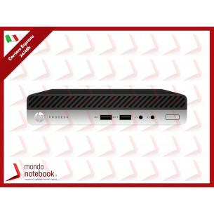 PC HP 405 G4 DM 6QS01EA Ryzen 5 Pro  2400GE 8GB SSD256GB NO DVD Tastiera Mouse W10P