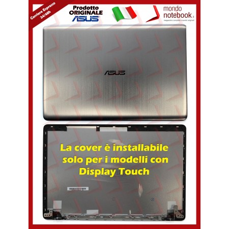 Cover LCD ASUS X580GD X580VD X580VN N580 (Versione solo per Modelli Touch)(Silver)