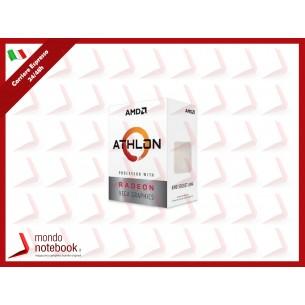 CPU AMD AMD ATHLON 3000G 3.50 GHz 4MB SKT AM4 - 35W VEGA 3 - YD3000C6FHBOX