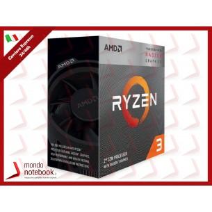 CPU AMD RYZEN 3 3200G 4.00 GHz 4 CORE 6MB SKT AM4 - 65W PIB RX VEGA 8 - YD3200C5FHBOX
