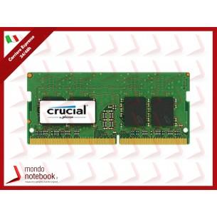 DDR4 x NB SO-DIMM CRUCIAL 8Gb 2400 Mhz - CL17 SingleRank - CT8G4SFS824A