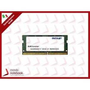DDR4 X NB SO-DIMM PATRIOT 4GB 2400Mhz - PSD44G240081S