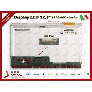 "Display LCD 12,1"" (1280x800) WXGA INVERTER 20 Pin SX (LUCIDO)"