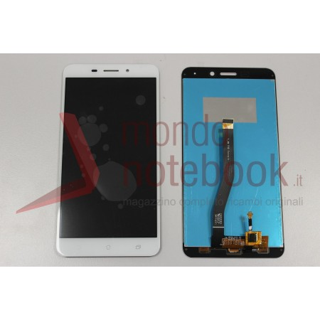 Display LCD con Touch Screen Compatibile Asus ZenFone 3 Laser ZC551KL Z01BS BIANCO