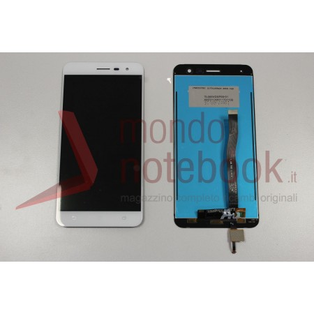 Display LCD con Touch Screen Compatibile Asus ZenFone 3 ZE552KL BIANCO