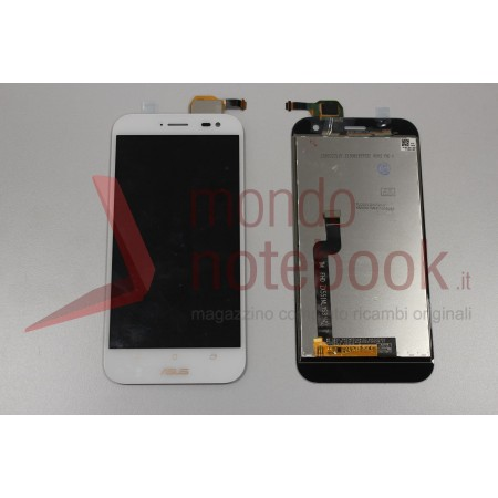 Display LCD con Touch Screen Compatibile Asus ZenFone Zoom ZX551ML BIANCO