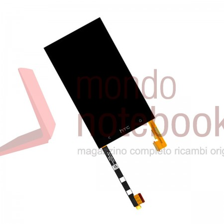 Display LCD con Touch Screen Compatibile HTC one M7 Senza Frame