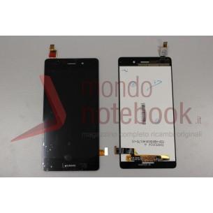 Display LCD con Touch Screen Compatibile Huawei Ascend P8 Lite (ALE-L21) (NERO)