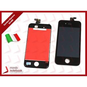 Display LCD con Touch Screen Compatibile per APPLE Iphone 4 (NERO) A+++