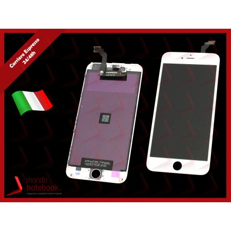 Display LCD con Touch Screen Compatibile per APPLE Iphone 6 PLUS (BIANCO) A+++