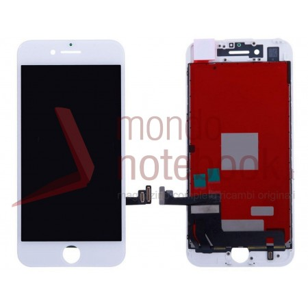 Display LCD con Touch Screen Compatibile per APPLE Iphone 7 (BIANCO) A+++