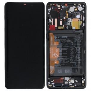 Display LCD con Touch Screen e Batteria Originale Huawei  P30 Pro (VOG-L29) Nero