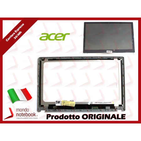 Display LCD con Touch Screen e Cornice Originale ACER Aspire V5-571P v5-571p