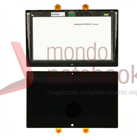 "Display LCD con Touch Screen Originale MICROSOFT Surface RT 10.6"" (Nero) Display Assembly"
