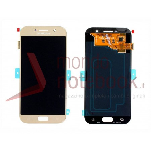 Display LCD con Touch Screen Originale SAMSUNG Galaxy A5 (2017) SM-A520F (Gold)