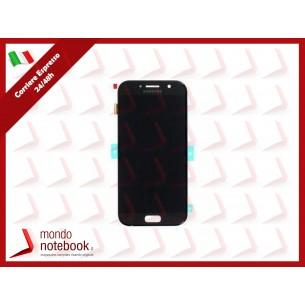 Display LCD con Touch Screen Originale SAMSUNG Galaxy A5 (2017) SM-A520F (Nero)