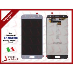 Display LCD con Touch Screen Originale SAMSUNG Galaxy J3 (2017) SM-J330F (Silver)