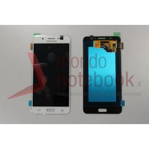 Display LCD con Touch Screen Originale SAMSUNG Galaxy J5 (2016) SM-J510FN (Bianco)