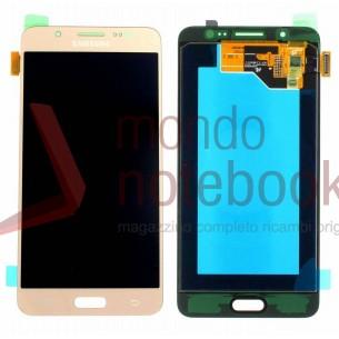 Display LCD con Touch Screen Originale SAMSUNG Galaxy J5 (2016) SM-J510FN (Gold)