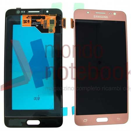 Display LCD con Touch Screen Originale SAMSUNG Galaxy J5 (2016) SM-J510FN (Rose - Gold)