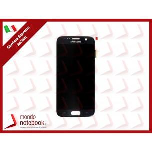 Display LCD con Touch Screen Originale SAMSUNG Galaxy S7 SM-G930F (Nero)