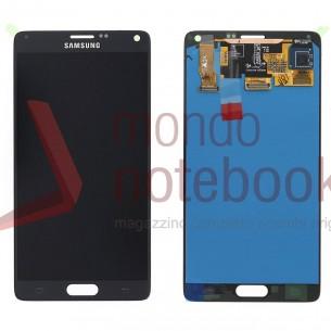 Display LCD con Touch Screen Originale SAMSUNG SM-N910F Galaxy Note 4 (Nero)