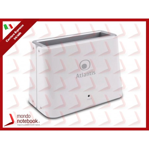 DOCKING STATION ATLANTIS A06-DK42 2.5'' e 3.5'' USB 3.0 Bianco