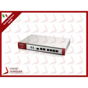 FIREWALL ZXYEL ATP200 2xWAN, 4xLAN/DMZ, 1xSFP,VPN:40IPSEC/L2TP, 10 SSL-INCLUDE 1 ANNO...