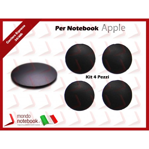 "Gommini Bottom Case Apple MacBook Pro A1278 A1286 A1297 13""15""17"" (Kit 4 pz) Set"