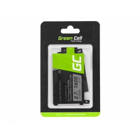 Green Cell 58-000049 Batteria per Amazon Kindle Paperwhite II 2013 oraz Amazon Kindle...