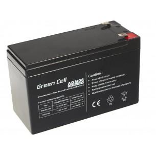 Green Cell AGM Batteria 12V 9Ah