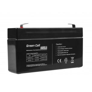 Green Cell AGM Batteria 6V 1.3Ah