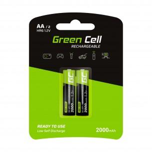 Green Cell Batteria 2x AA HR6 2000mAh