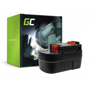 Green Cell Batteria A14 HPB14 FSB14 per Black&Decker CP14K EPC14 EPC14CA HP142K XTC143...