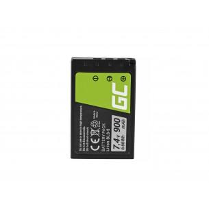 Green Cell Batteria BLS-5 / BLS-50 Olympus OM-D E-M10, PEN E-PL2, E-PL5, E-PL6, E-PL7,...