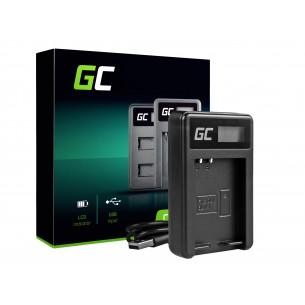 Green Cell Batteria Charger BCN-1 per Olympus BLN-1/BCN-1, PEN-F, OM-D EM1, EM5, OM-D...
