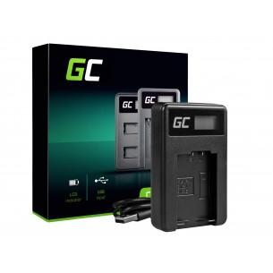 Green Cell Batteria Charger DE-A83, DE-A84 per Panasonic DMW-MBM9, Lumix DMC-FZ70,...