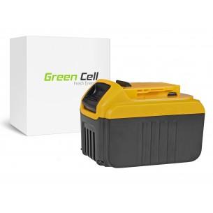 Green Cell Batteria DeWalt DCB140 DCB141 DCB142 DCB140-XJ DCB141-XJ 14.4V 6Ah