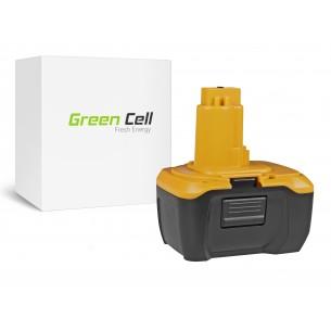 Green Cell Batteria DeWalt DE9141 DE9140 DC737KL DC733KL DC733C2 14.4V 3Ah