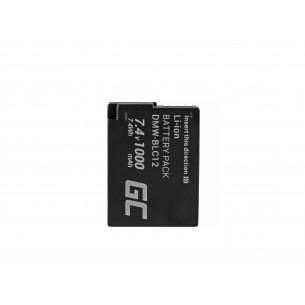 Green Cell Batteria DMW-BLC12 Panasonic FZ2000, G81, FZ1000, FZ300, G6M, GX8M, G70M,...