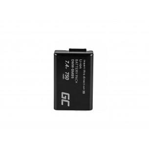 Green Cell Batteria DMW-BMB9 Panasonic Lumix DMC-FZ70, DMC-FZ60, DMC-FZ100, DMC-FZ40,...
