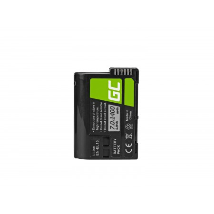 Green Cell Batteria EN-EL15 ® Nikon D850, D810, D800, D750, D7500, D7200, D7100, D610,...