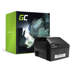 Green Cell Batteria FEIN ABLK ABLS 1.3 1.6 ABS ABSS AFMM ASB ASCM ASCS ASCT ASM ASW 14