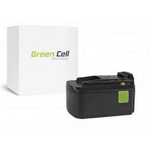 Green Cell Batteria Festool BPC18 18V 3Ah